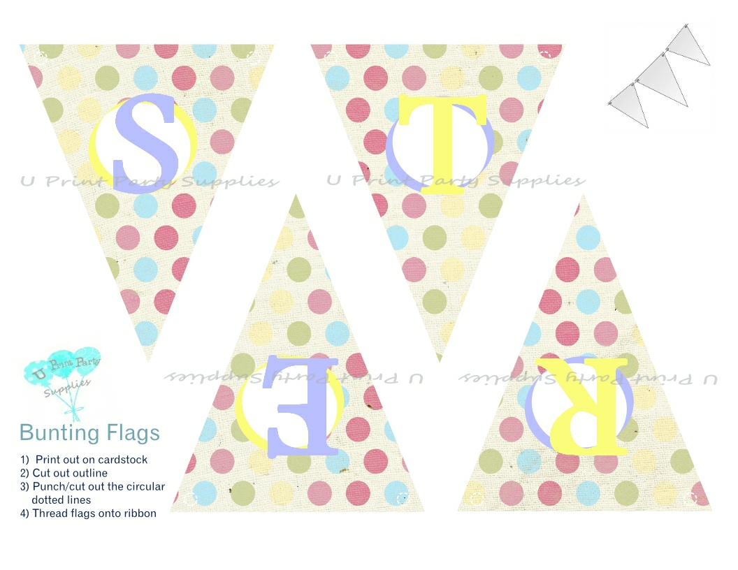 image about Happy Easter Banner Printable titled easter strategies U Print Bash Resources