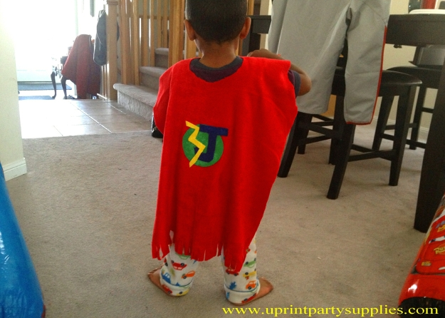Superhero Party Capes 3 5x7